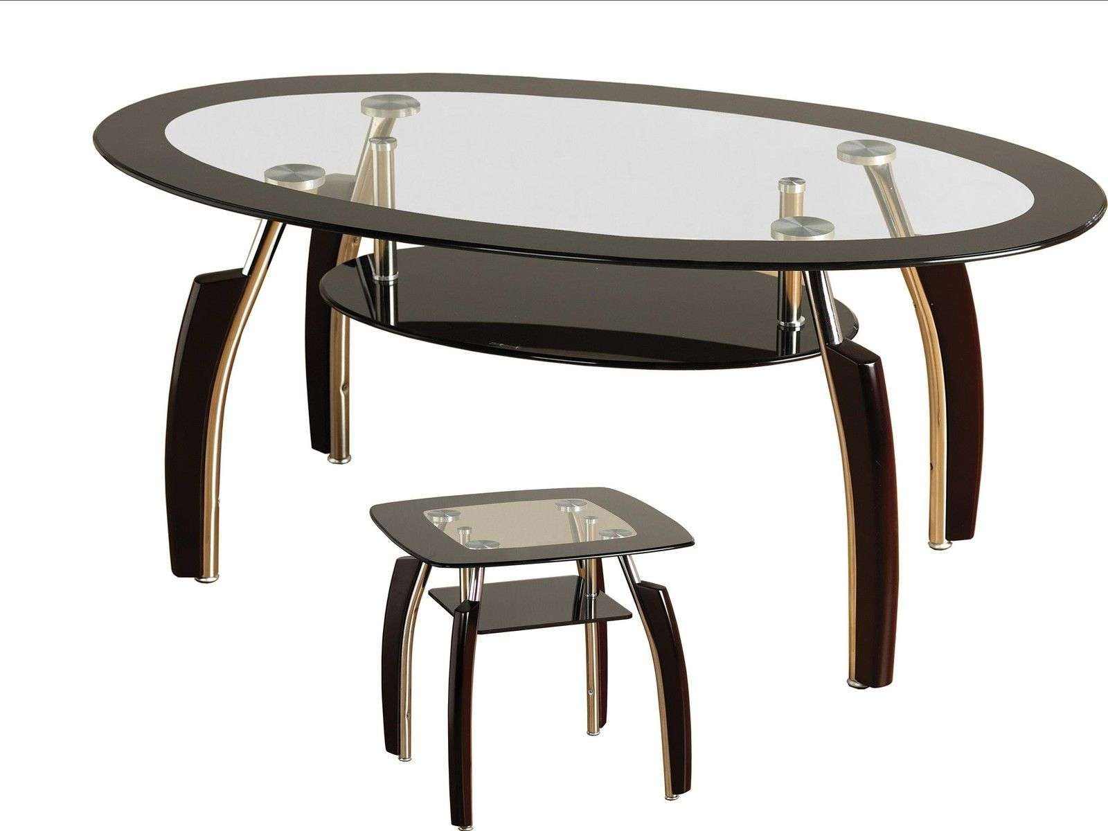 Seconique Elena Coffee Table & Lamp Table – Clear Glass, Chrome Throughout Popular Elena Coffee Tables (View 20 of 20)