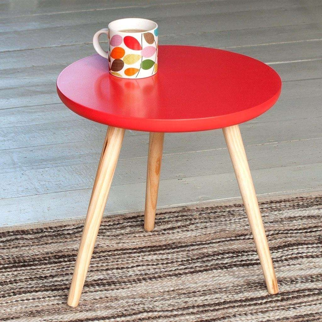 Serrone Page 45: Red Coffee Table (View 18 of 20)