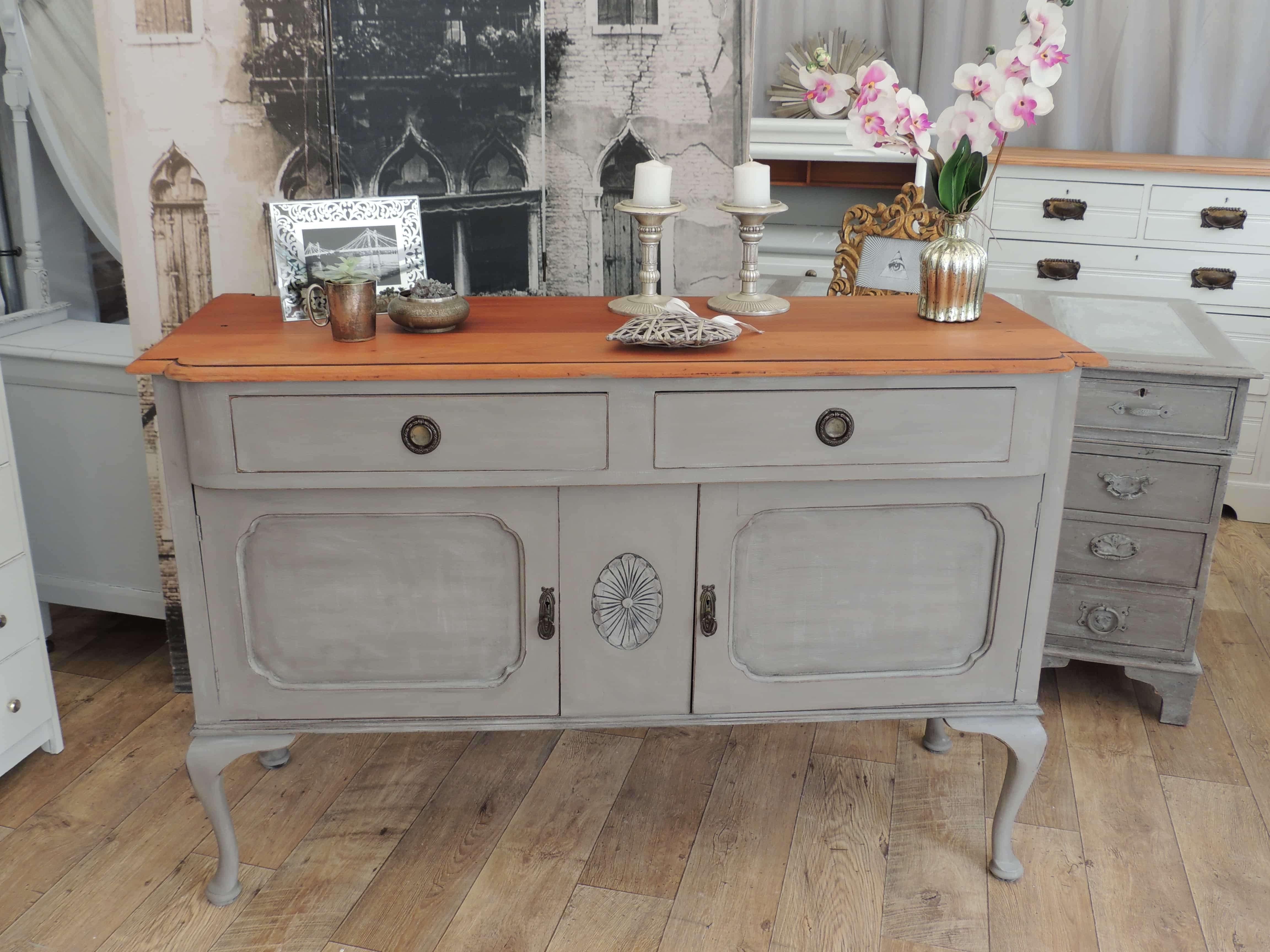 Shabby Chic Edwardian Sideboard – Eclectivo London | Furniture With Regard To Shabby Chic Sideboards (View 13 of 20)