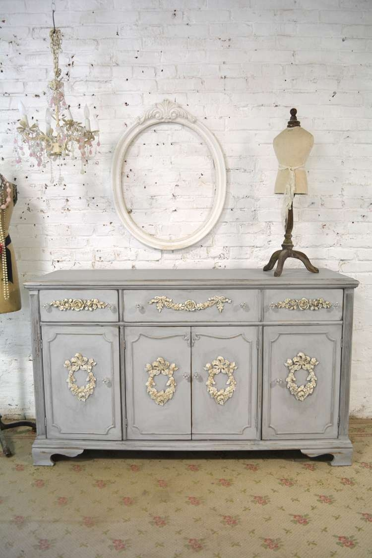 Shabby Chic Server Sidboard Pertaining To French Sideboards (View 18 of 20)
