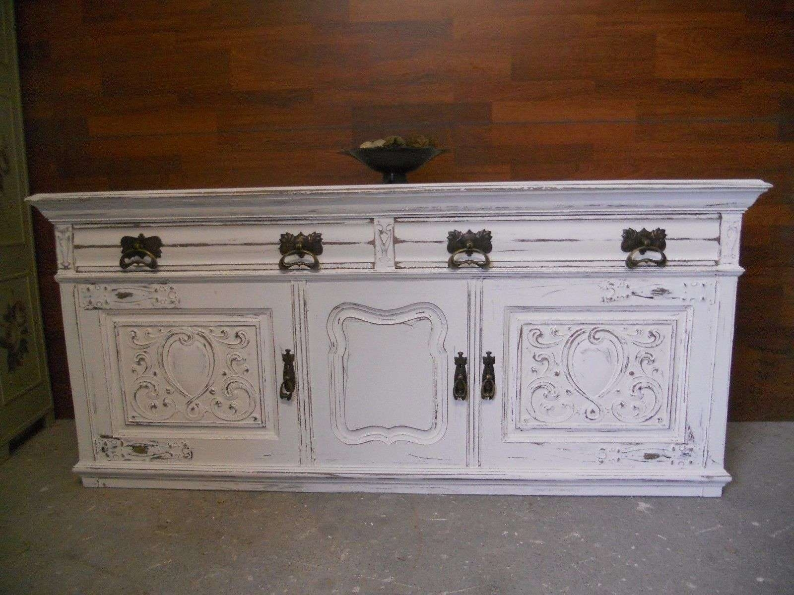 Shabby Chic Sideboard/dresser/storage Painted In Farrow & Ball And With Shabby Chic Sideboards (View 15 of 20)