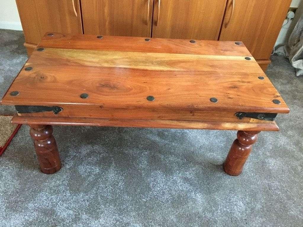 Sheesham Coffee Tables / Coffee Tables / Thippo Inside Widely Used Sheesham Coffee Tables (View 18 of 20)
