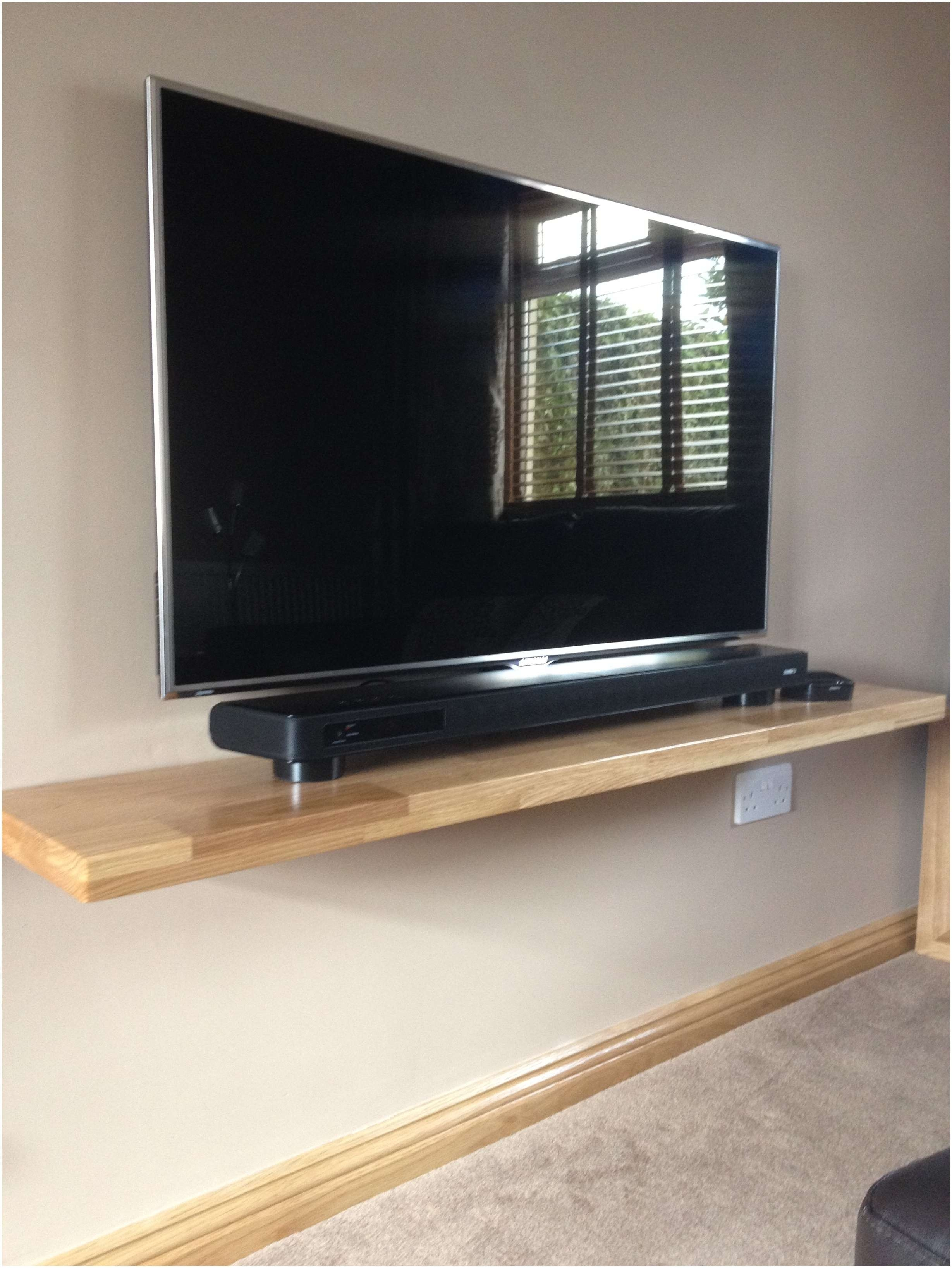 Shelves : Awesome Floating Entertainment Wall Shelf Vcr Under Tv With Regard To Under Tv Cabinets (View 11 of 20)