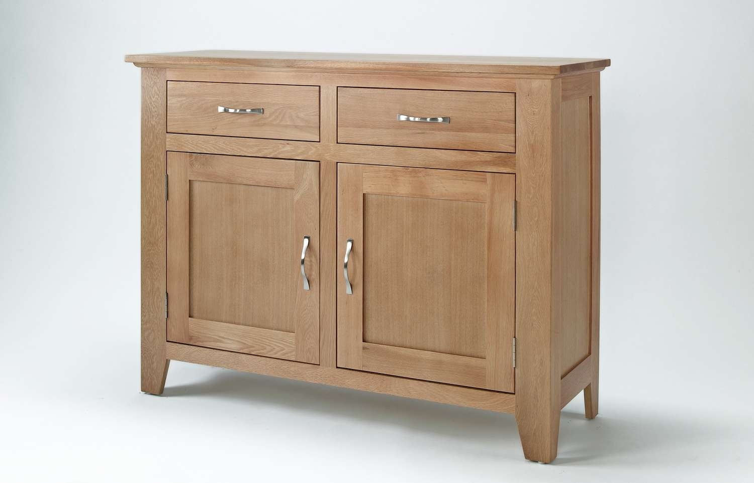 Sherwood Oak Sideboard With 2 Doors & 2 Drawers Intended For Sideboards With Drawers (View 17 of 20)