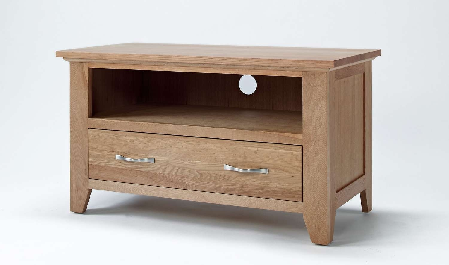 Sherwood Oak Small Tv Unit (View 13 of 20)