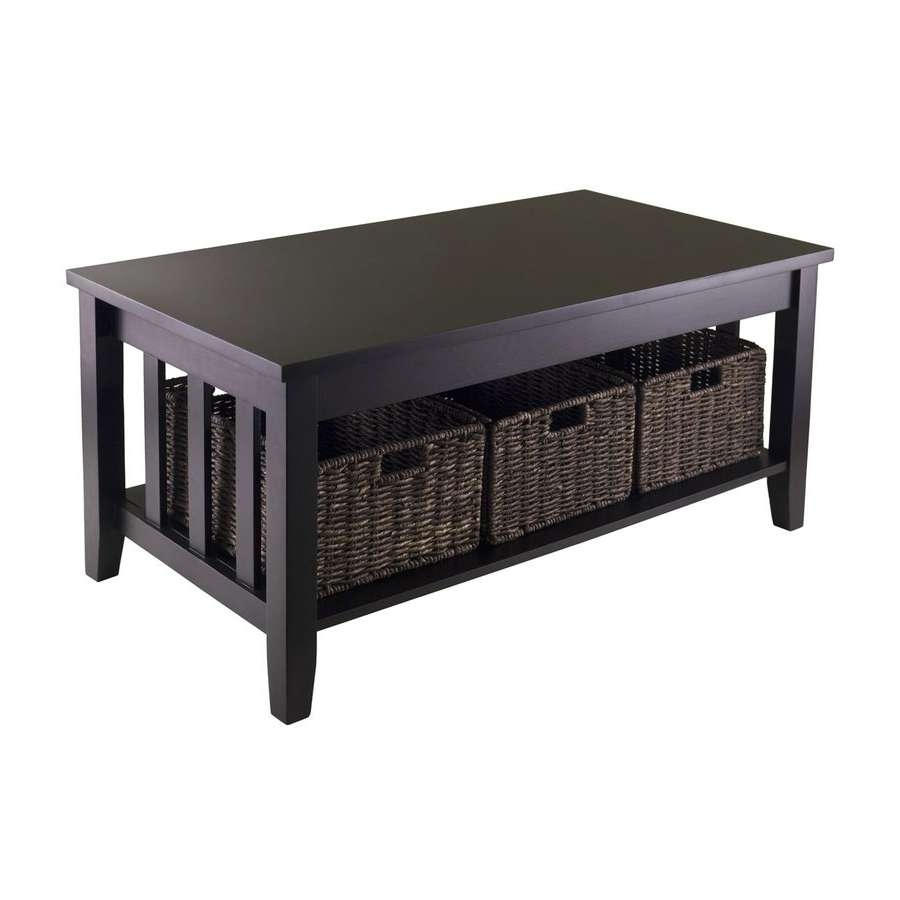 Shop Coffee Tables At Lowes For Most Current Round Slate Top Coffee Tables (View 17 of 20)