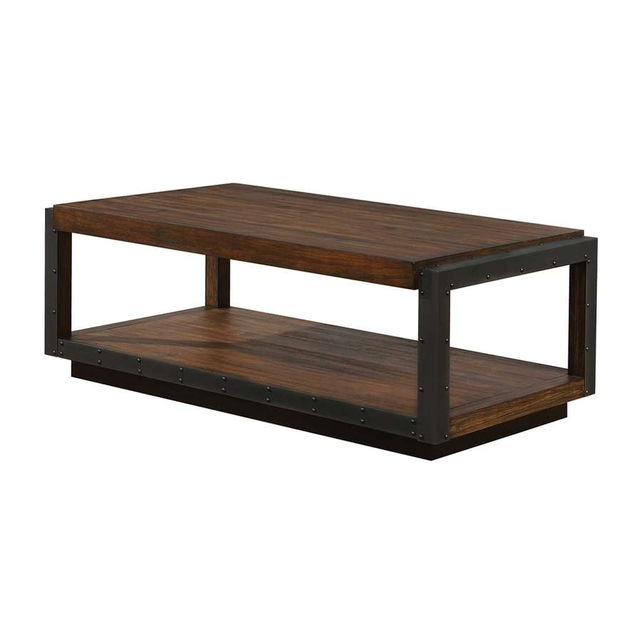 Shop Coffee Tables At Lowes Inside Most Popular Coffee Tables With Shelves (View 14 of 20)