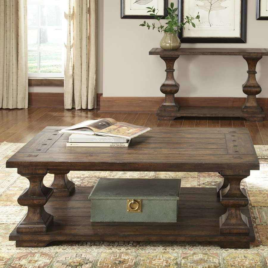 Shop Liberty Furniture Sedona Oak Coffee Table At Lowes Intended For Best And Newest Oak Wood Coffee Tables (View 19 of 20)