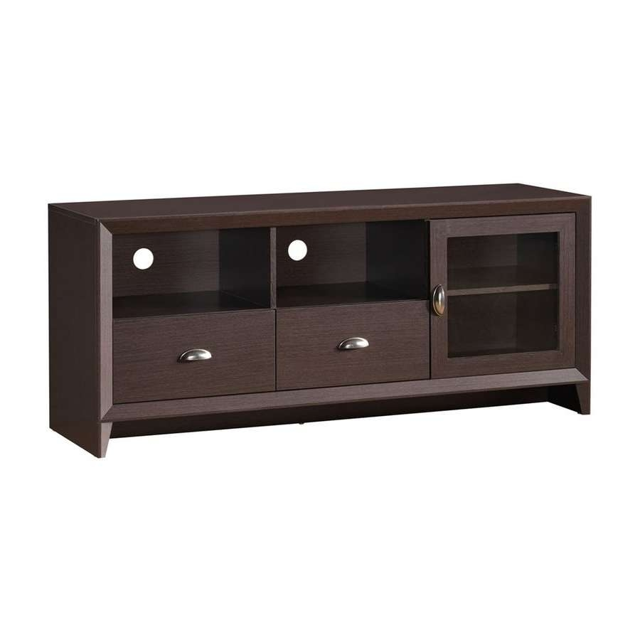 Shop Techni Mobili Wenge Rectangular Tv Cabinet At Lowes Throughout Wenge Tv Cabinets (View 20 of 20)