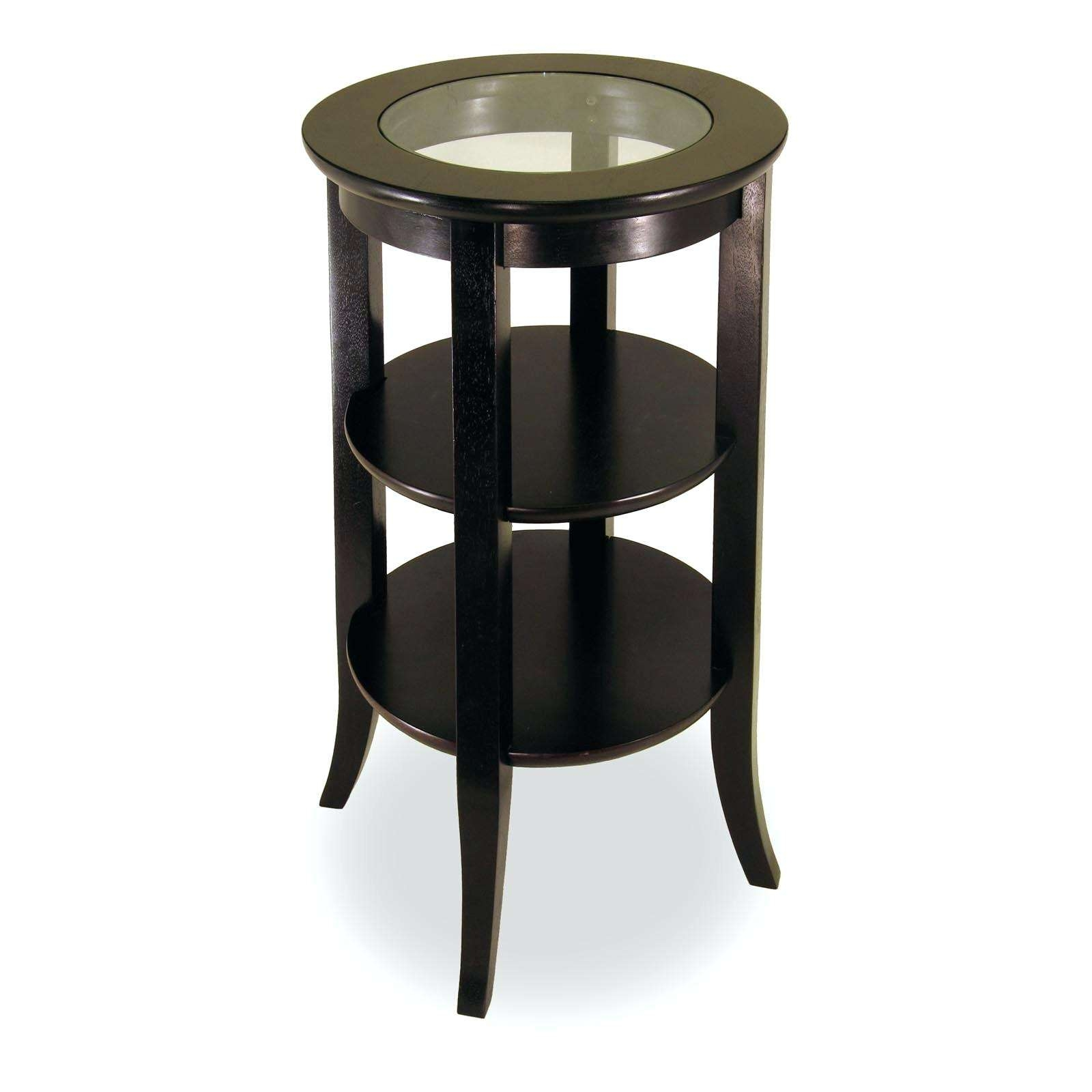 Side Table ~ Glass Top Side Tables Beautiful Dark Grey Bedside Inside 2018  Small Coffee Tables