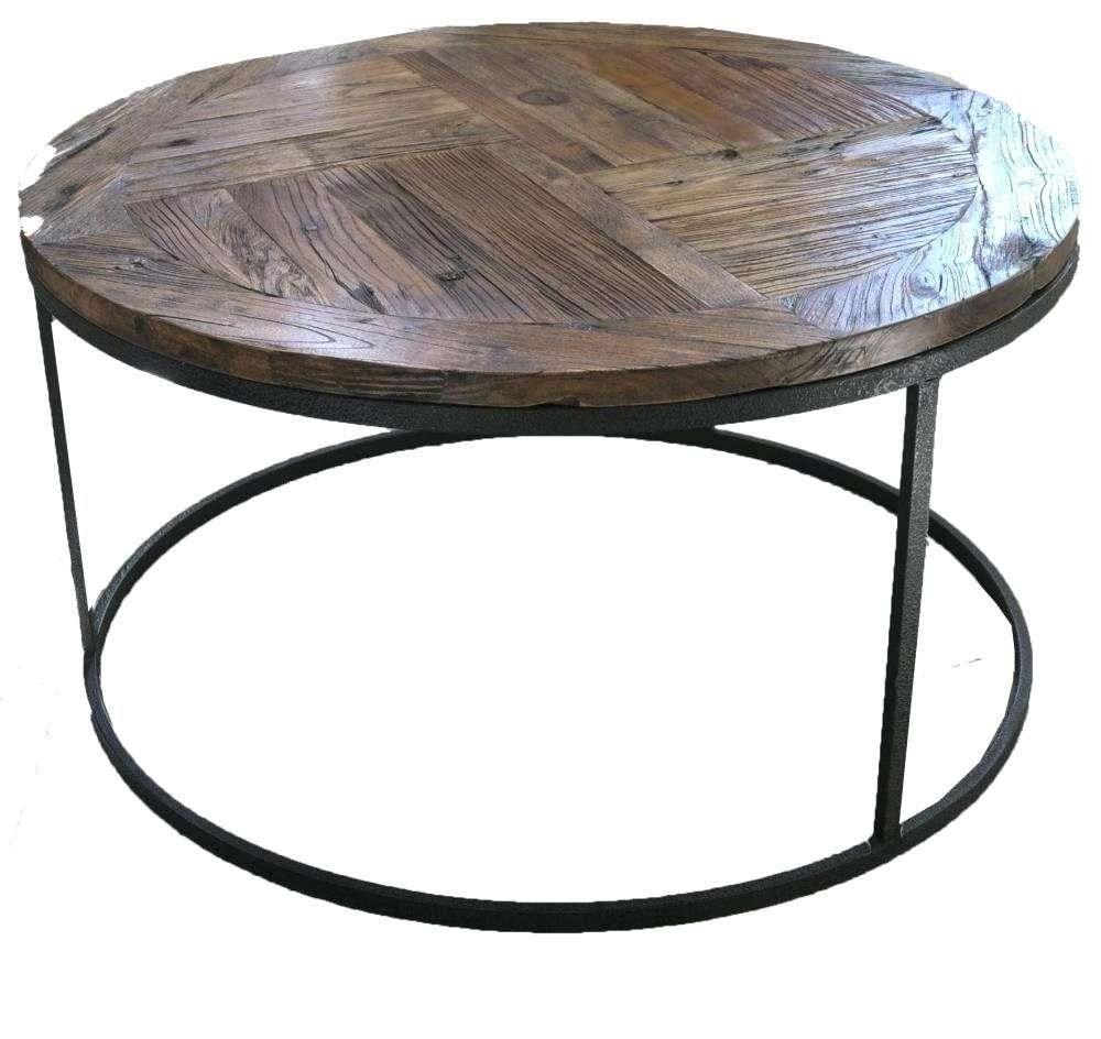 Side Table ~ Industrial Round Side Table Ebay Industrial Round Inside Preferred Industrial Round Coffee Tables (View 13 of 20)