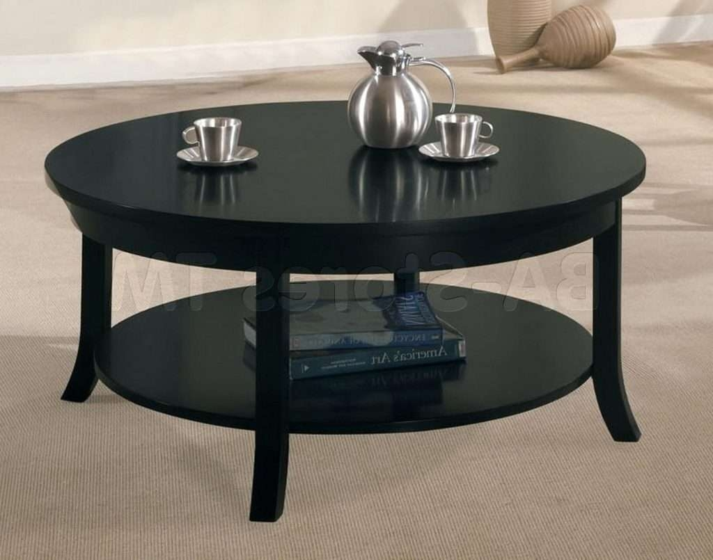 Side Table ~ Round Black Side Table Stylish Coffee Tables With Throughout Most Recently Released Stylish Coffee Tables (View 20 of 20)