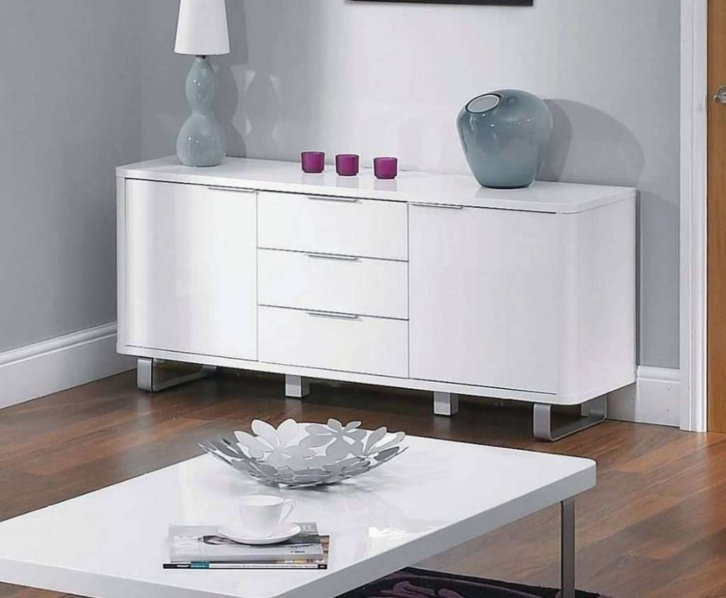 Sideboard 15 Photo Of Cheap White High Gloss Sideboards Regarding Intended For White High Gloss Sideboards (View 16 of 20)