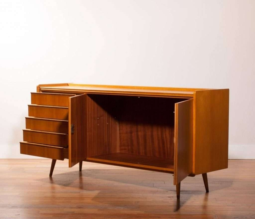 Sideboard 20 Ideas Of Beech Sideboards Within 1950s Sideboard For Inside Beech Sideboards (View 5 of 20)