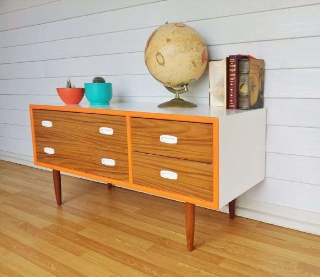 Sideboard 93 Best Painted Retro Sideboards Images On Pinterest Pertaining To Retro Sideboards (View 6 of 20)