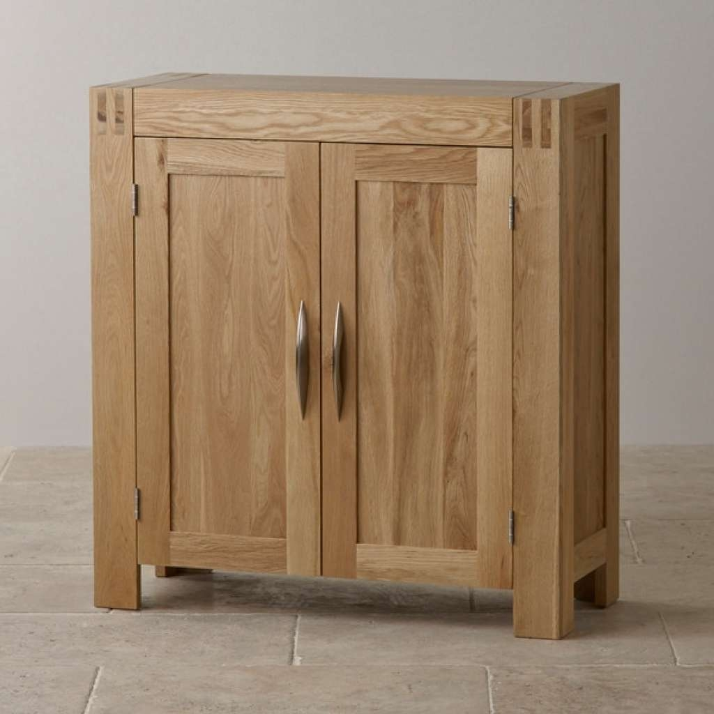 Sideboard Alto Media Storage Unit In Natural Solid Oak | Oak With Regard To Media Sideboards (View 9 of 20)