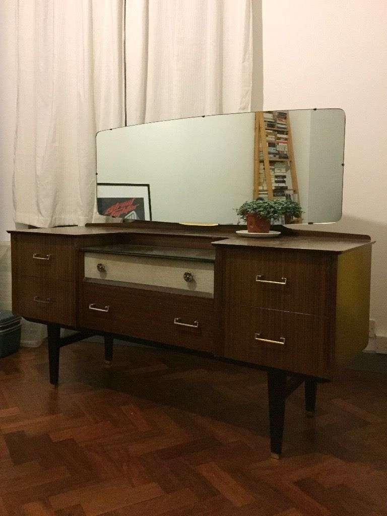 Sideboard: Amazing 50s Sideboard Furniture Credenzas For Sale Within 50s Sideboards (View 10 of 20)