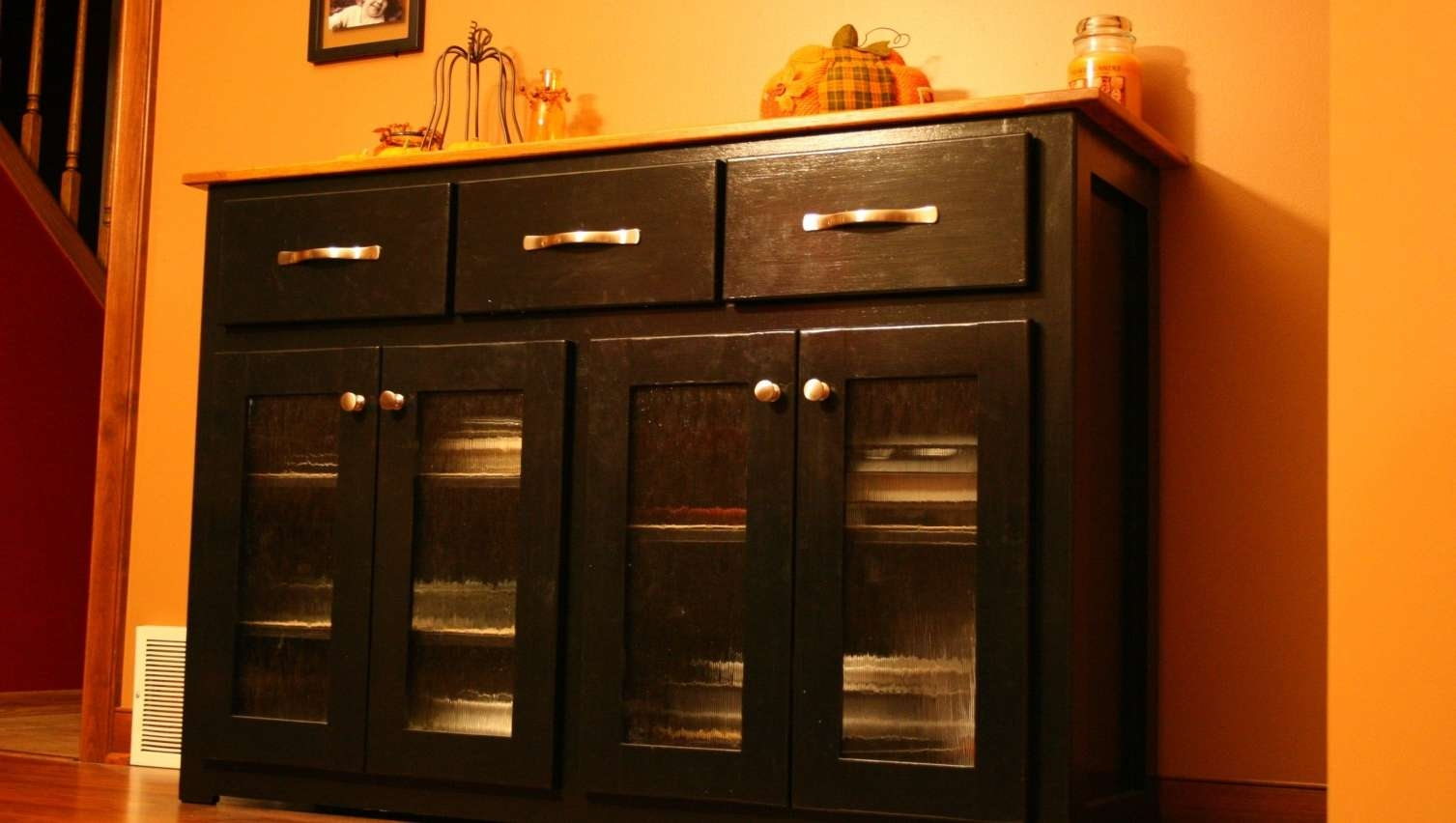 Sideboard : Amazing Black Sideboard Cabinet Amazing Narrow Pertaining To Narrow Sideboards And Buffets (View 12 of 20)