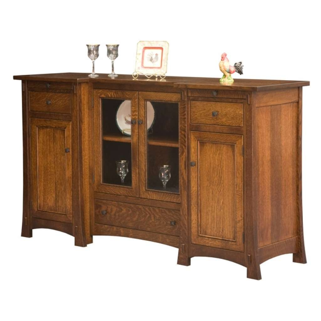 Sideboard Amish Buffets & Sideboards, Amish Furniture Inside Mission Sideboards (View 7 of 20)