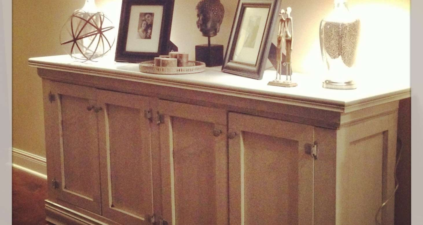 Sideboard : Ana White | Rustic Sideboard / Buffet Table Diy Throughout Skinny Sideboards (View 10 of 20)