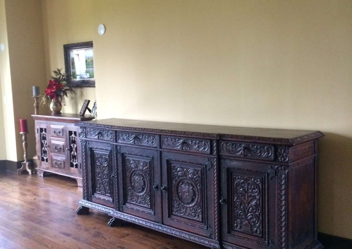 Sideboard : Antique Sideboards And Buffets Pictures Awesome With Regard To Cool Sideboards (View 6 of 20)