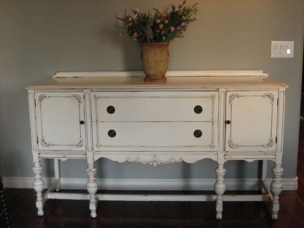 Sideboard Antique White Sideboards And Buffets — New Decoration Within Antique White Sideboards (View 17 of 20)