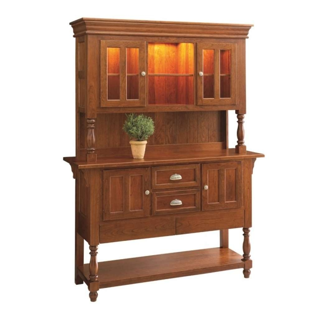 Sideboard Bedford Sideboard Hutch | Solid Hardwood Furniture Intended For Country Sideboards And Hutches (View 11 of 20)