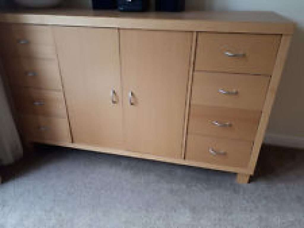 Sideboard Beech Sideboards And Buffets | Ebay Pertaining To Beech Regarding Beech Sideboards (View 15 of 20)