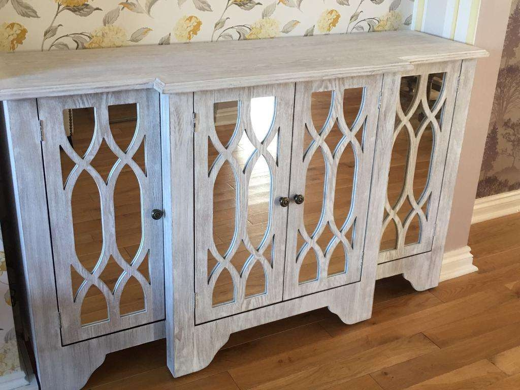 Sideboard: Best White Mirrored Sideboard Design Spike Mirrored Regarding White Mirrored Sideboards (View 14 of 20)