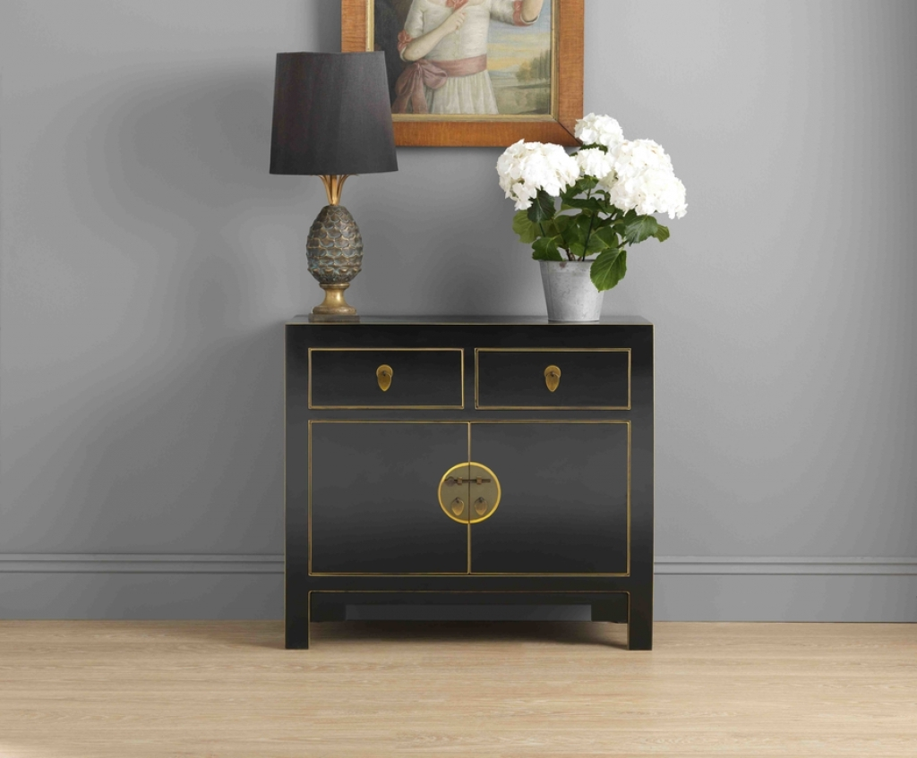 Sideboard Black Chinese Sideboard Medium | Sideboards & Display For Black Sideboards Cabinets (View 13 of 20)