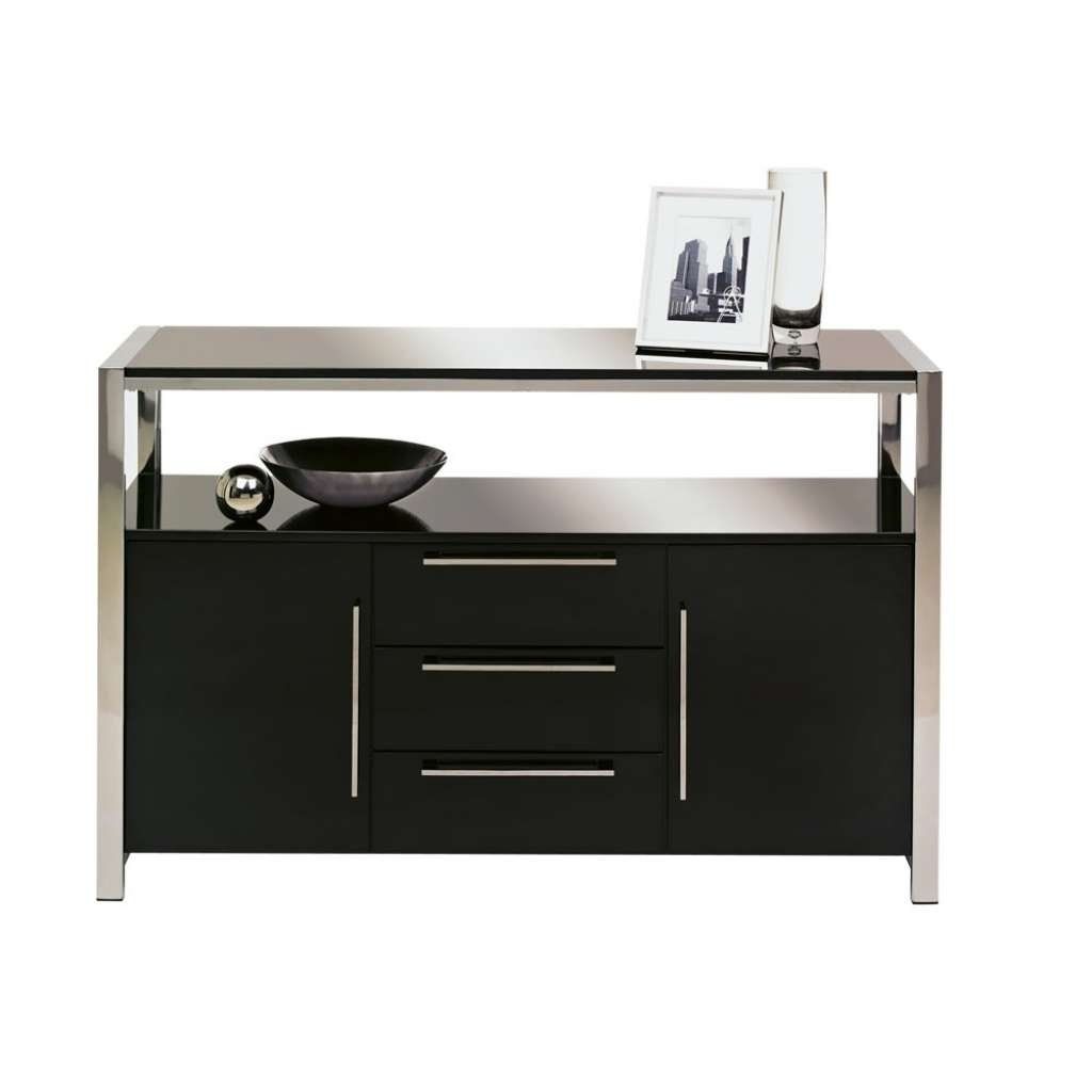 Sideboard Charisma Sideboard Black Gloss At Wilko With Next Black Pertaining To Next Black Gloss Sideboards (View 9 of 20)