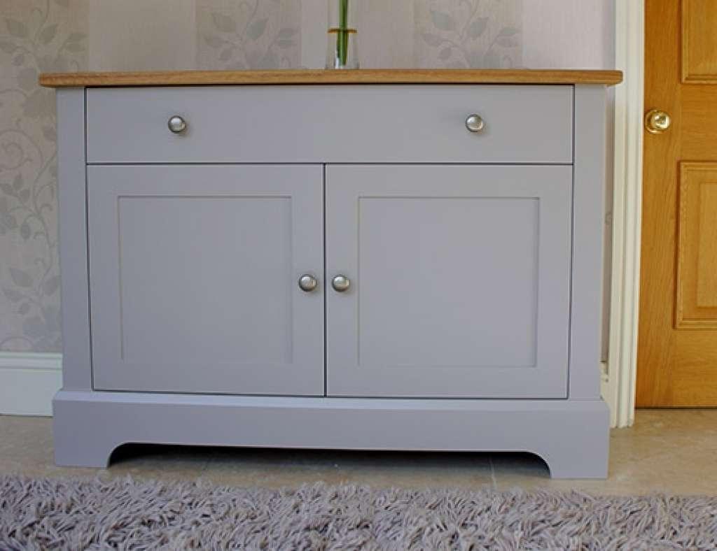 Sideboard Chatsworth Cabinets Pilsley Slimline Sideboard For Slim Oak Sideboards (View 15 of 20)