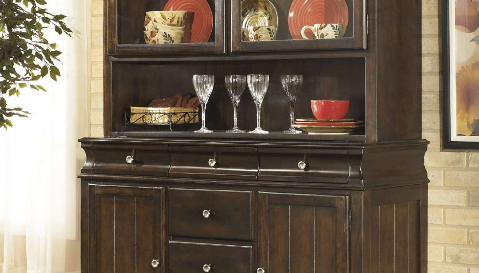 Sideboard : Cheap Buffet Tables Sideboards Horrifying Vintage Regarding 42 Inch Sideboards (View 3 of 20)