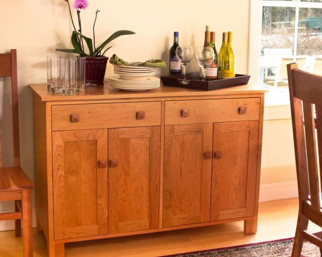 Sideboard Craftsman Furniture: An Investment You Can Appreciate Inside Cherry Sideboards (View 20 of 20)