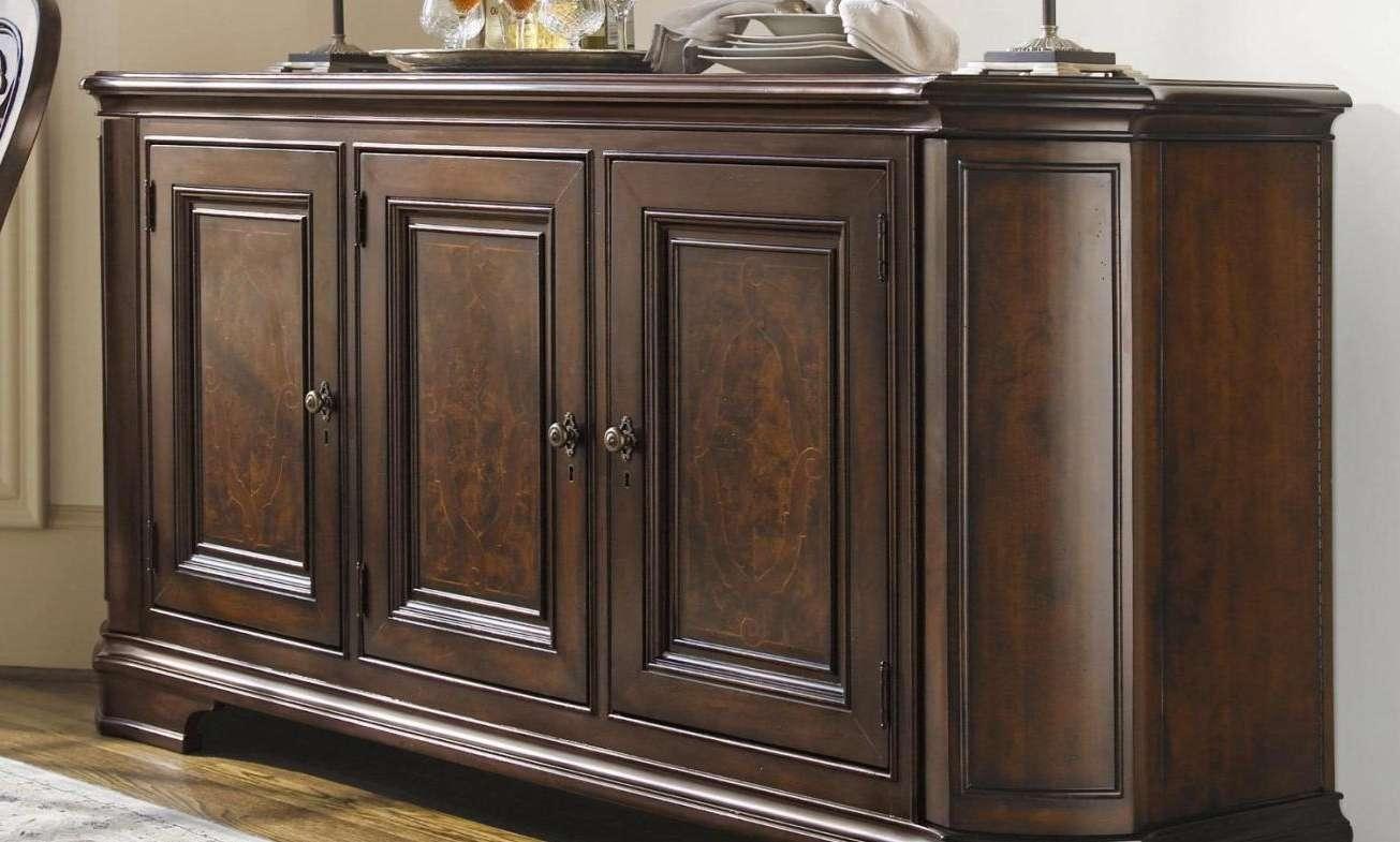 Sideboard : Dark Wood Buffet Small Buffet Cabinet White Wood With Regard To Small Dark Wood Sideboards (View 11 of 20)