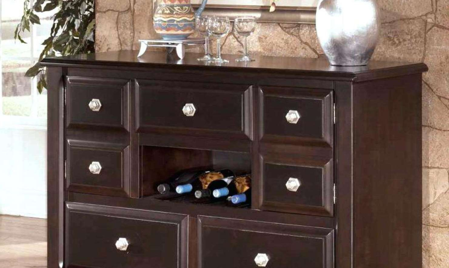 Sideboard : Decorating Dining Room Buffets And Sideboards Trendy Inside Trendy Sideboards (View 9 of 20)