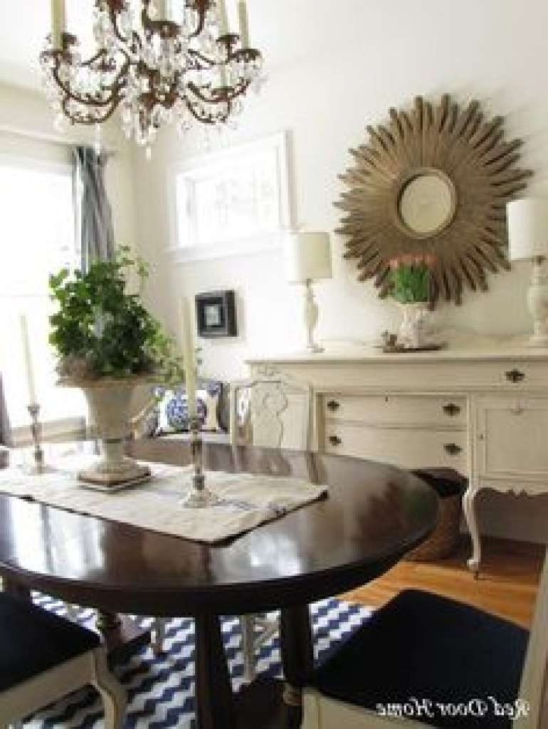 Sideboard Dining Room Buffet #diy #beforeafter I Like Both! | Home Within Mirror Over Sideboards (View 17 of 20)