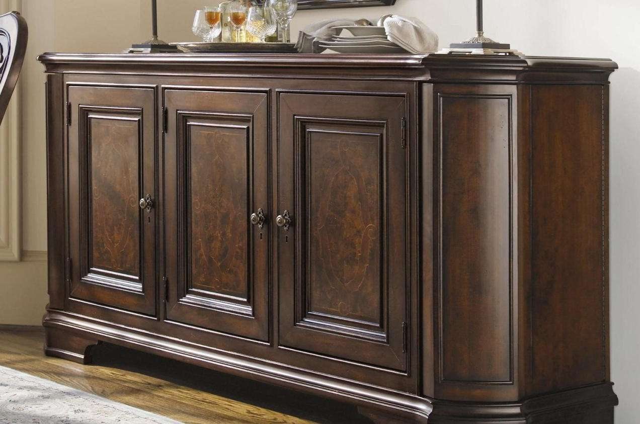 Sideboard : Dining Room Buffets Sideboards Awesome And Vintage Pertaining To Trendy Sideboards (View 5 of 20)