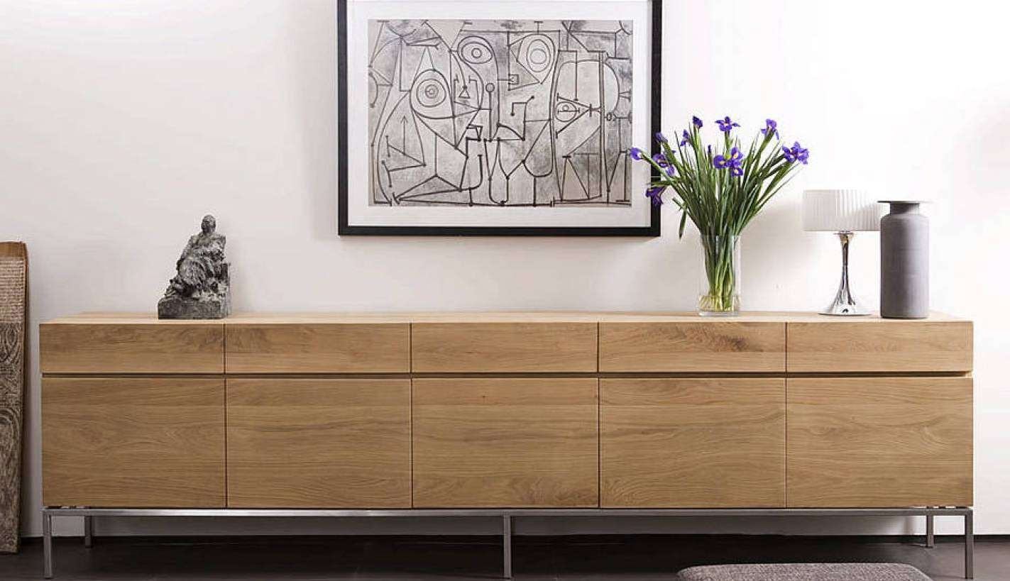 Sideboard : Dining Room Contemporary Small Sideboard Buffet With Trendy Sideboards (View 15 of 20)