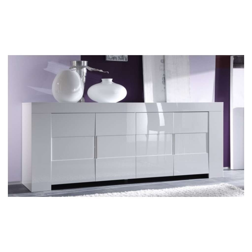 Sideboard Eos White Gloss Sideboard Sideboards Sena Home Furniture Throughout Gloss Sideboards Furniture (View 4 of 20)