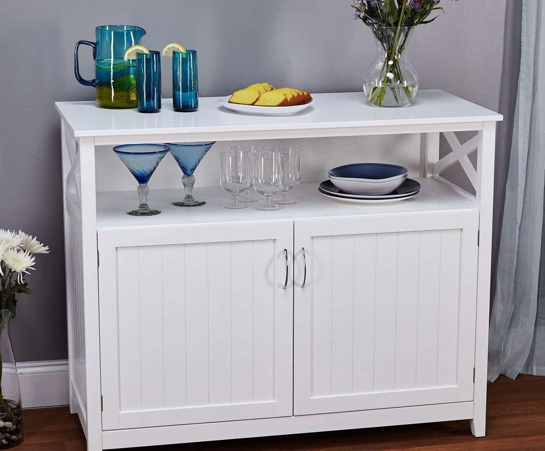 Sideboard : Funiture Wonderful Bar Buffet Furniture Shallow Buffet Within Shallow Buffet Sideboards (View 20 of 20)