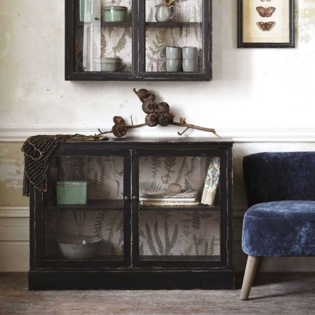 Sideboard Glass Fronted Buffet Cabinet | Furniture | Graham And Regarding Green Sideboards (View 13 of 20)