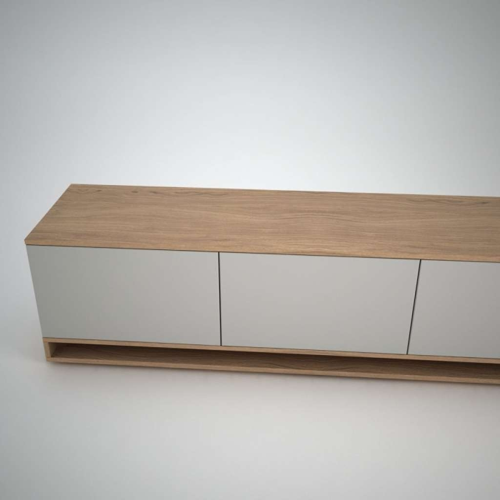 Sideboard Harlem Low Sideboard (2) White Join Furniture Pertaining With Low Wooden Sideboards (View 10 of 20)
