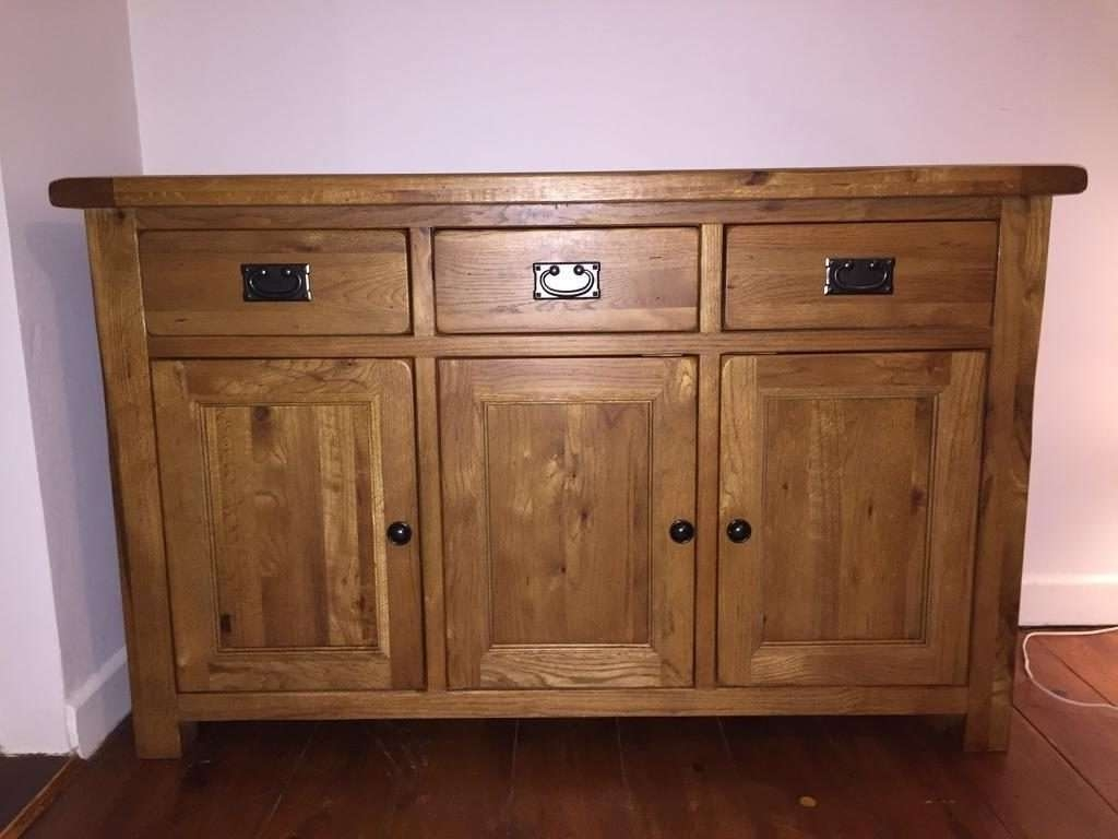 """Sideboard Harvey's """"toulouse"""" Solid Oak Sideboard 