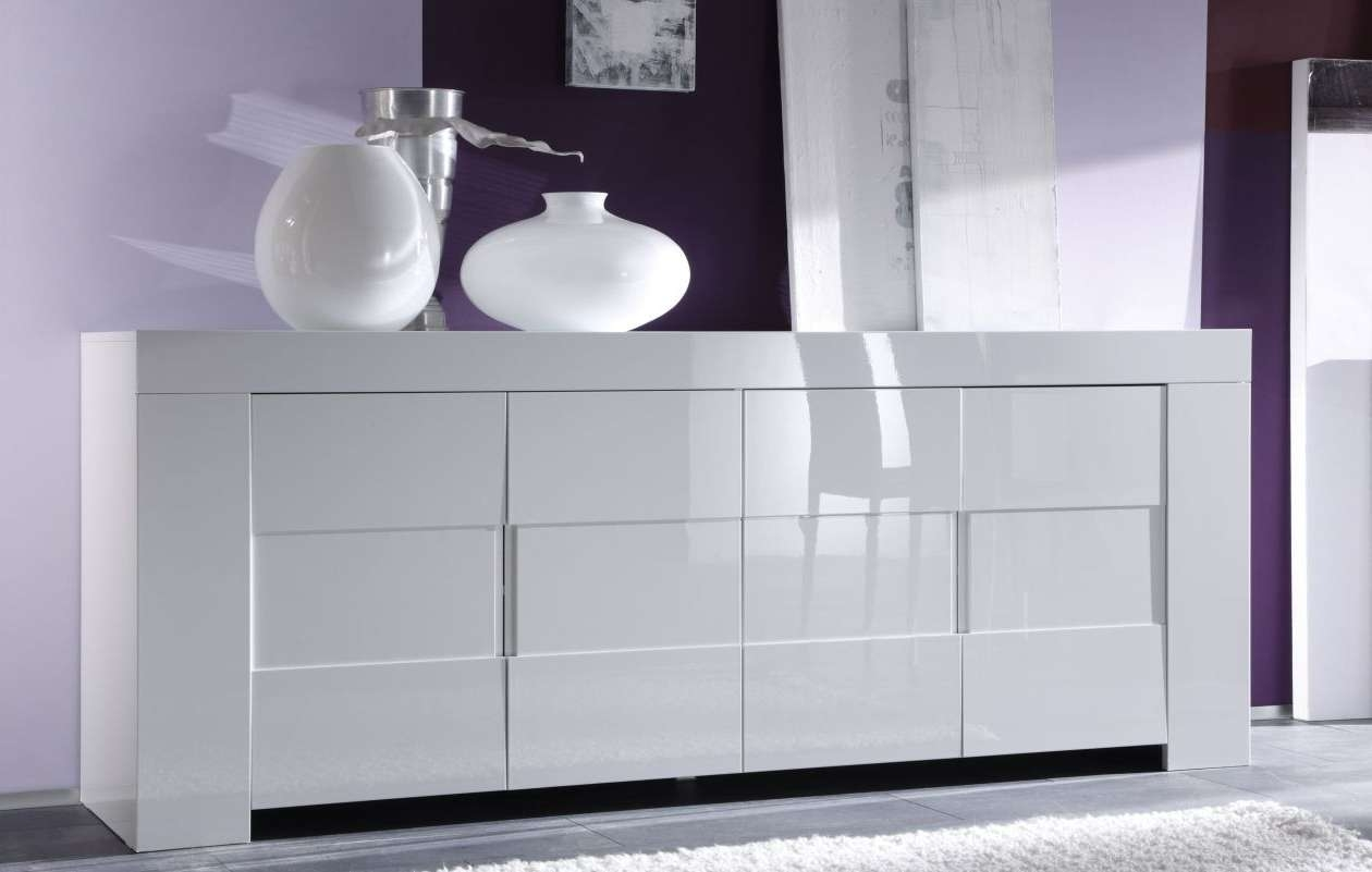 Sideboard : High Gloss White Sideboard Notable' Charismatic In Slim White Sideboards (View 15 of 20)