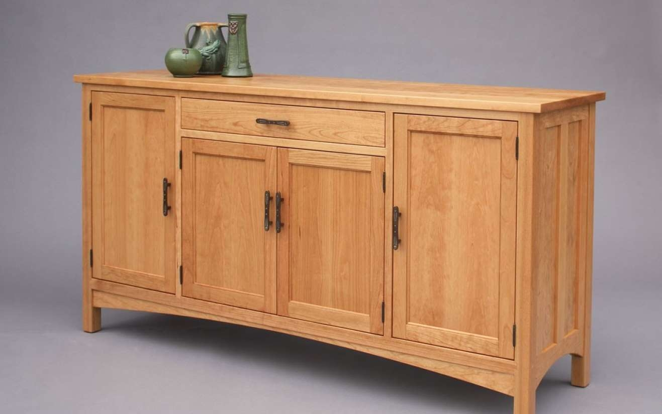 Sideboard : Maple Sideboard Exceptional' Delight Tiger Maple With Regard To Maple Sideboards (View 14 of 20)