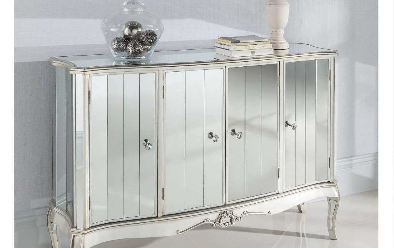Sideboard : Mirrored Buffet Cabinet Home Design Elegant Sideboards Inside Elegant Sideboards (View 15 of 20)