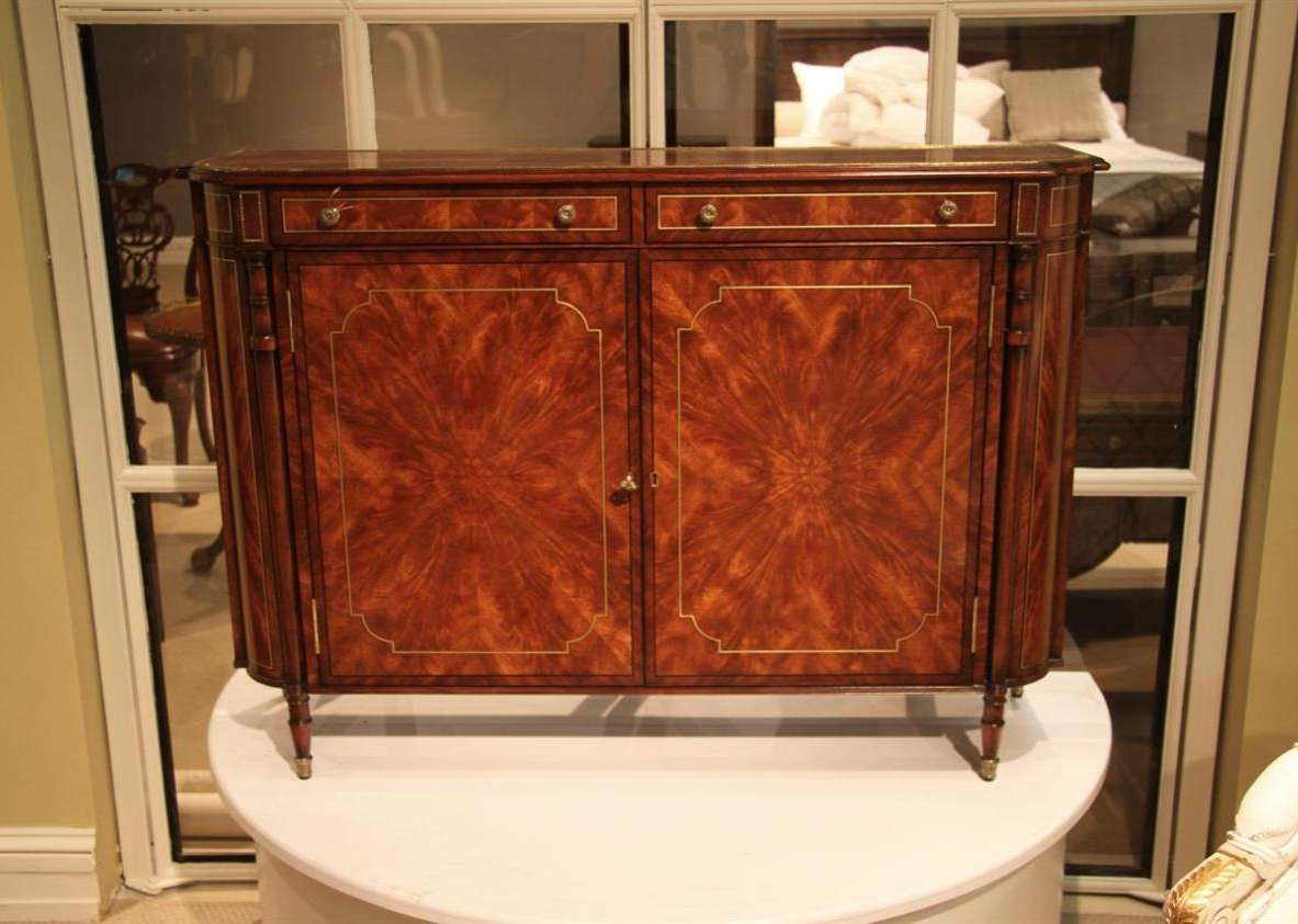 Sideboard : Mirrored Sideboard Console Cabinet Awesome Mirrored Regarding Buffet Console Sideboards (View 4 of 20)