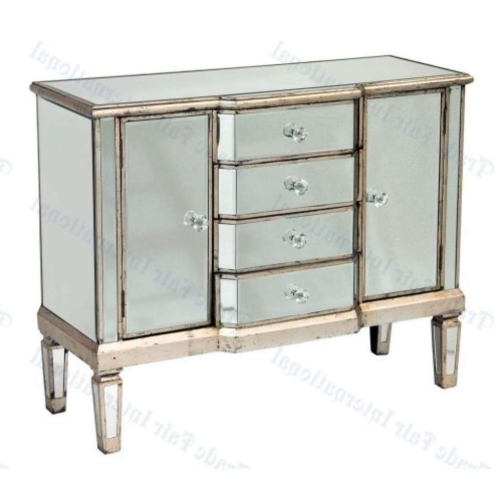 Sideboard Mirrored Small Silver Sideboard (silver) Sideboards With Regard To Silver Sideboards (View 1 of 20)