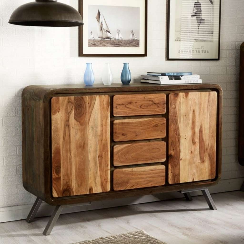 Sideboard Modern, Industrial & Retro Sideboards At Zurleys | Cheap In Retro Sideboards (View 20 of 20)